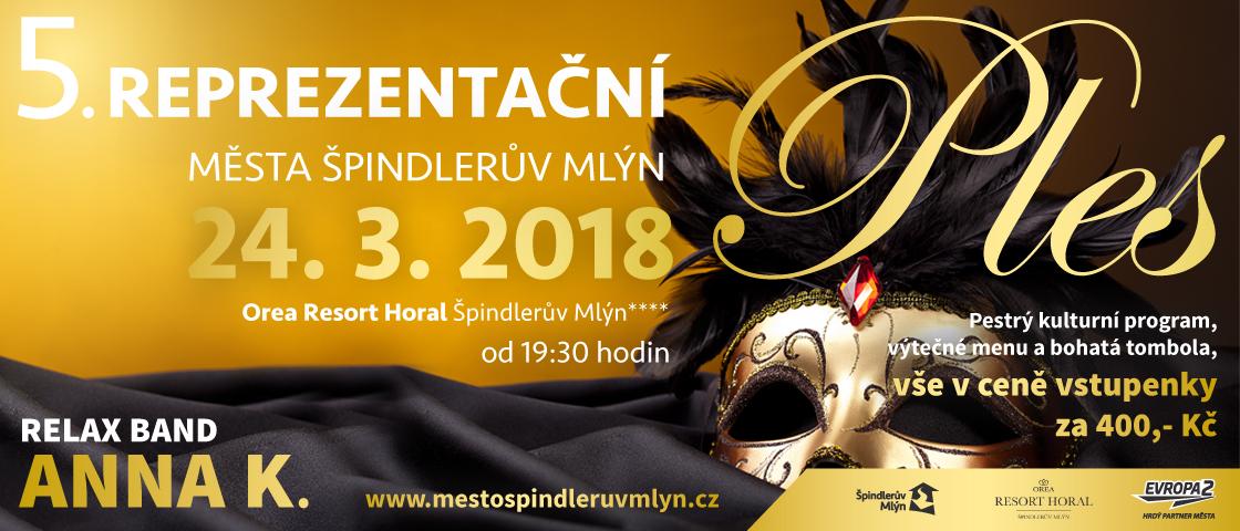 5. reprezentační ples Města Špindlerův Mlýn - 24. 3. 2018 1